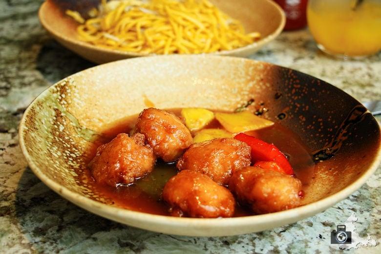 Chinesisches Essen im Dim T