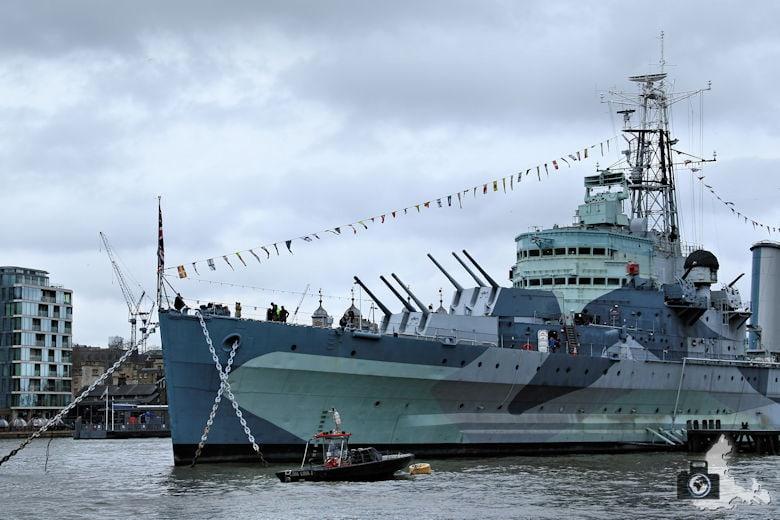 London - Kriegsschiff HMS Belfast