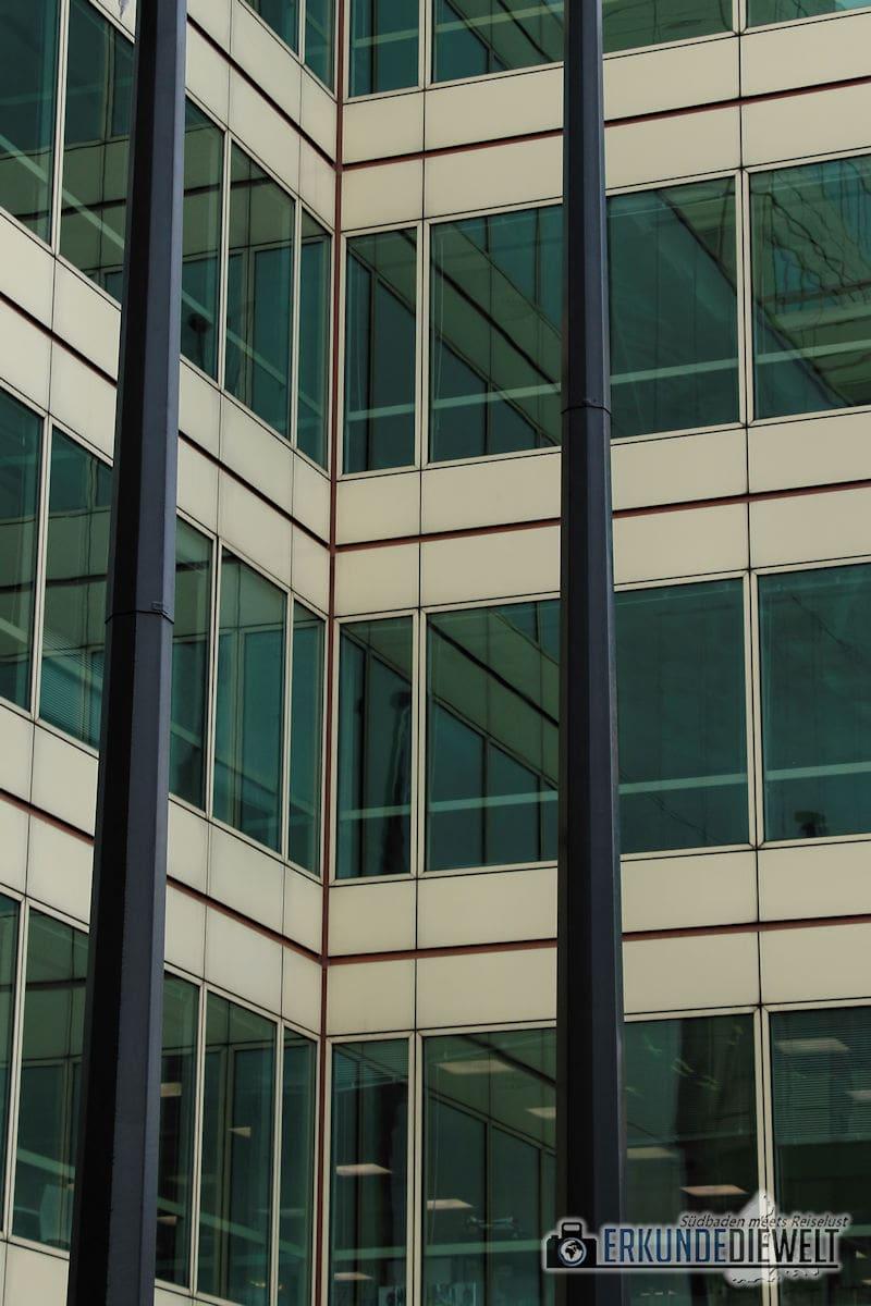 Hausfassade. London, Großbritannien