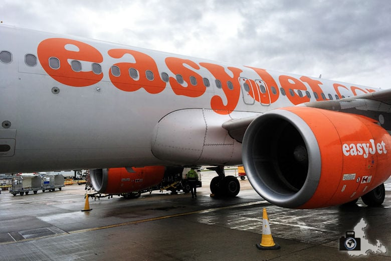 Flug nach London mit easyJet