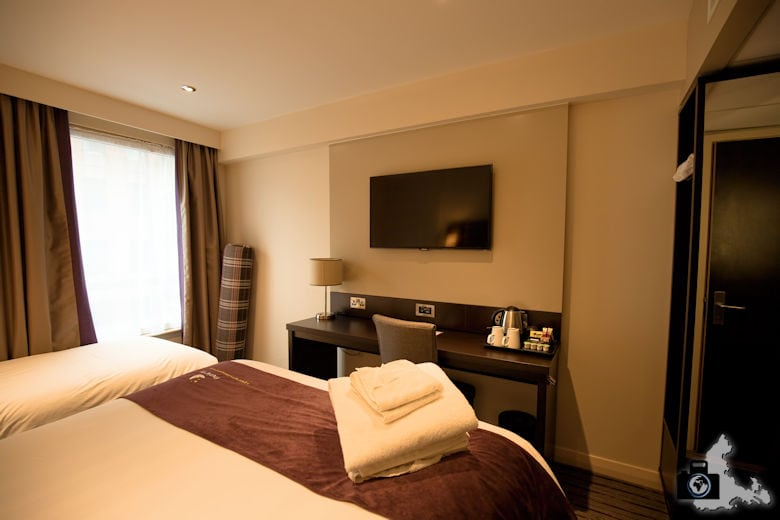 Zimmer im Premier Inn London Southwark in der Borough Street