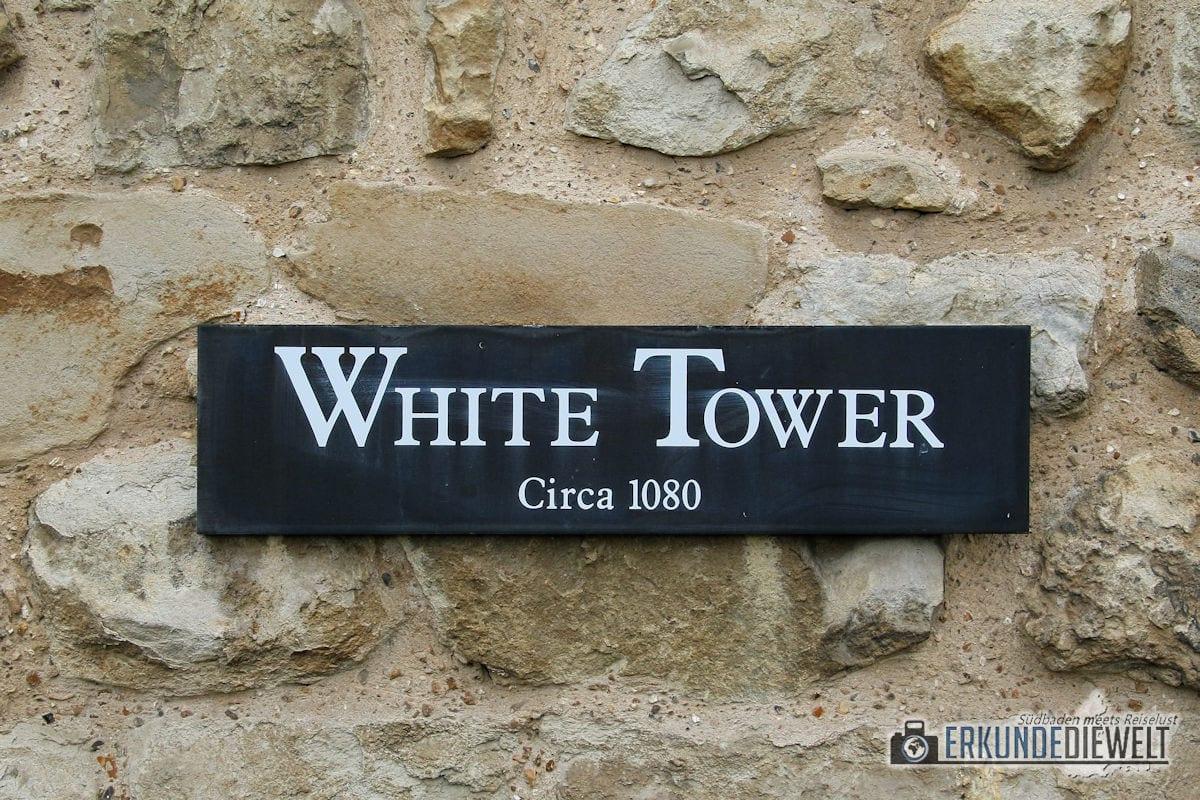 Tower of London, London, Großbritannien