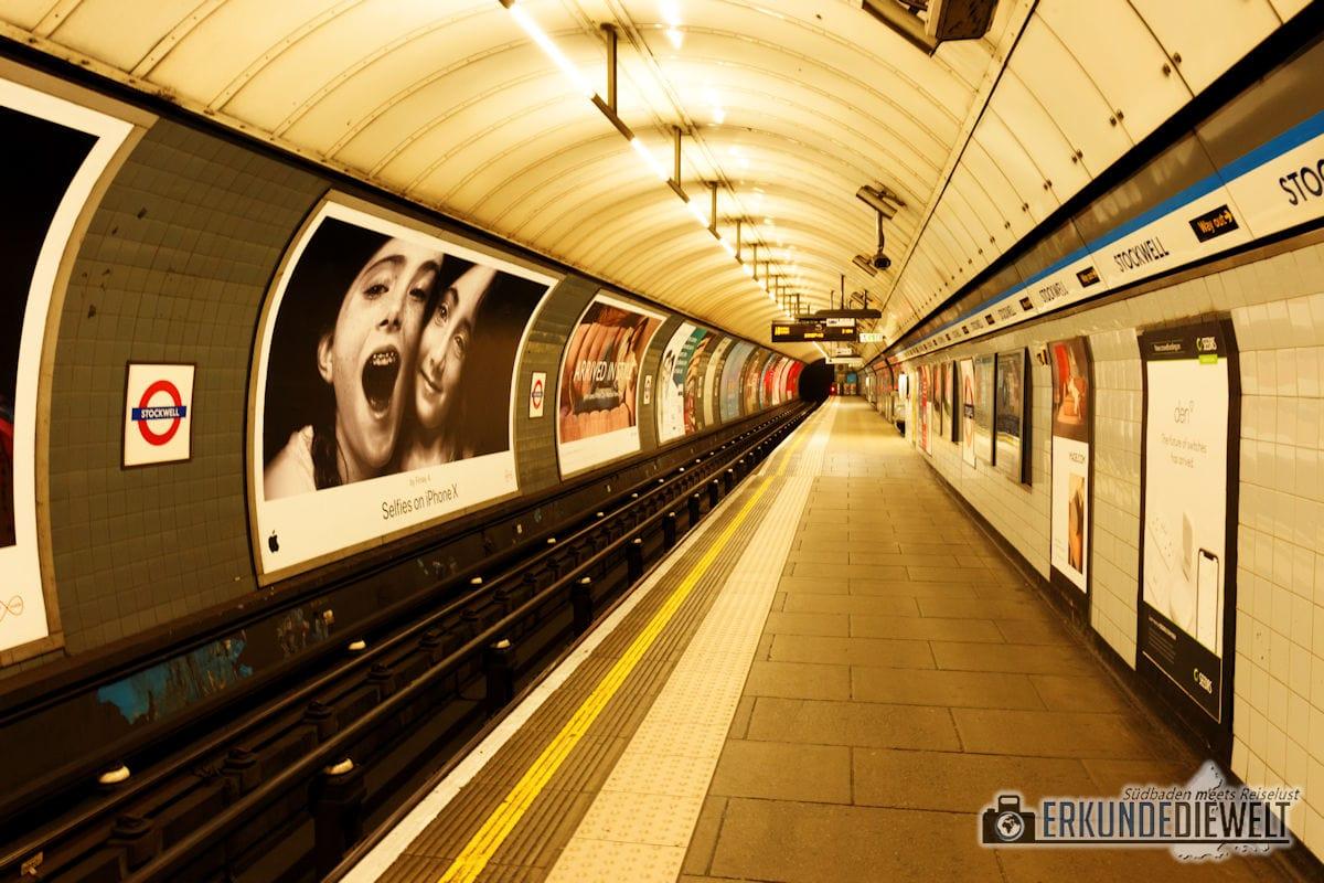 Metro, London, Großbritannien