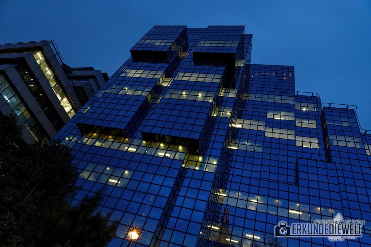 London bei Nacht - Bürohaus