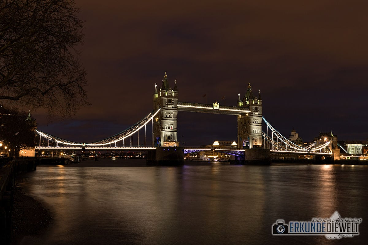 London bei Nacht - Tower Bridge