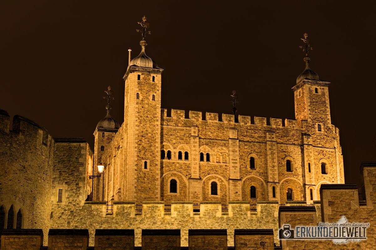 London bei Nacht - Tower of London
