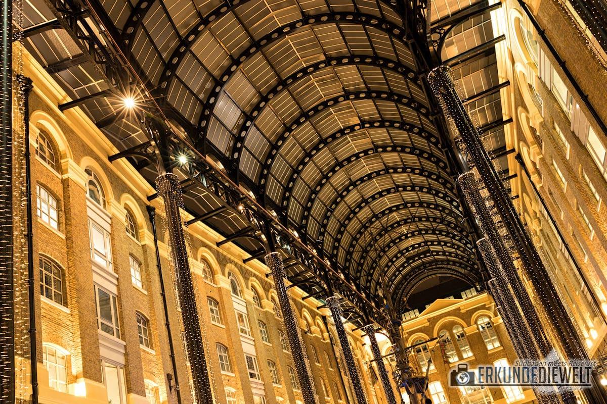 London bei Nacht - Hay's Galeria