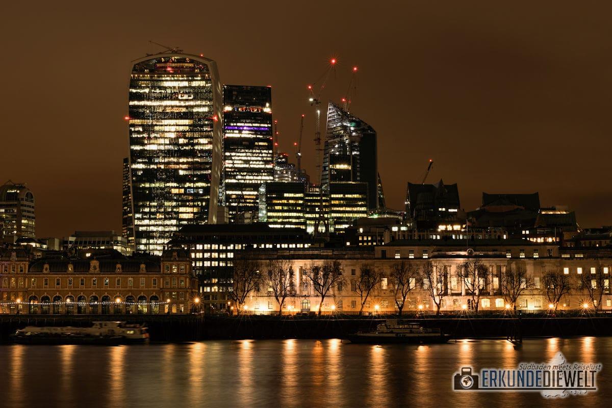 London bei Nacht - Sky Garden