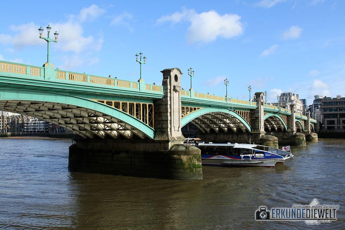 Southwark Bridge, London, Großbritannien