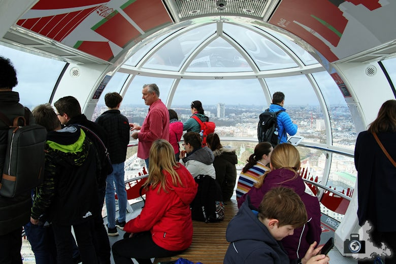 London Eye - Gondel