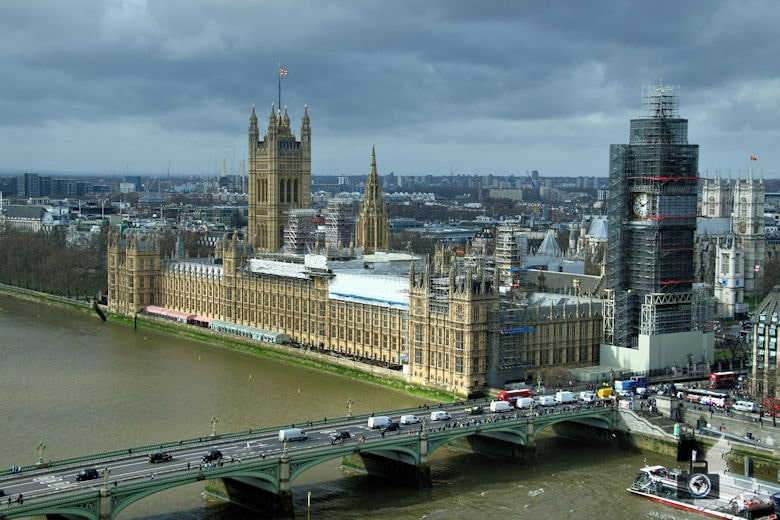 London Eye - Aussicht auf Big Ben