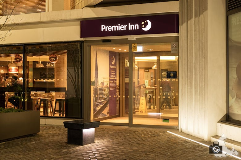 Premier Inn London Southwark - Eingang