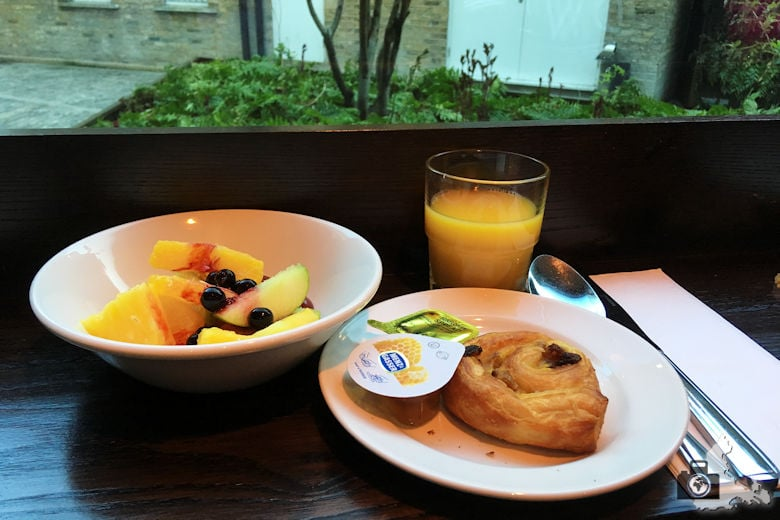 Frühstück im Permier Inn London Southwark