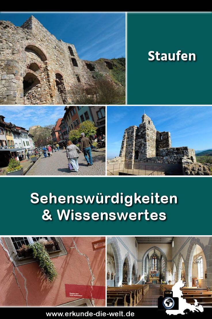Staufen im Breisgau im Schwarzwald - Kompakt-Reiseführer