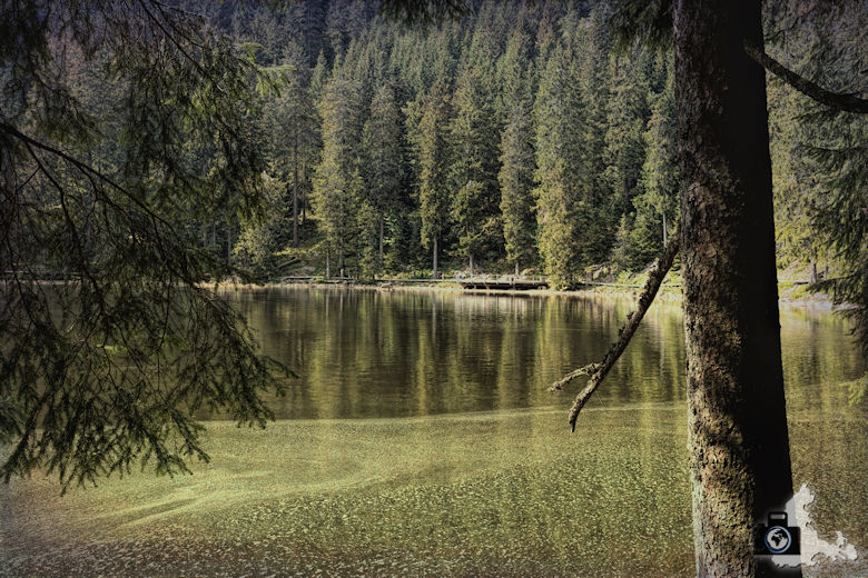 Mummelsee im Schwarzwald