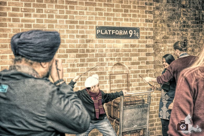 Gleis 9 3/4 Kings Cross - Harry Potter