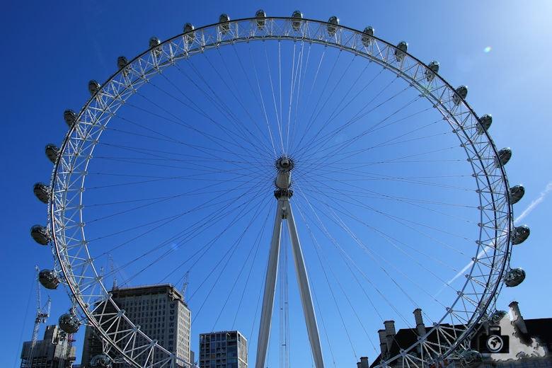 London Bootsfahrt auf der Themse - London Eye