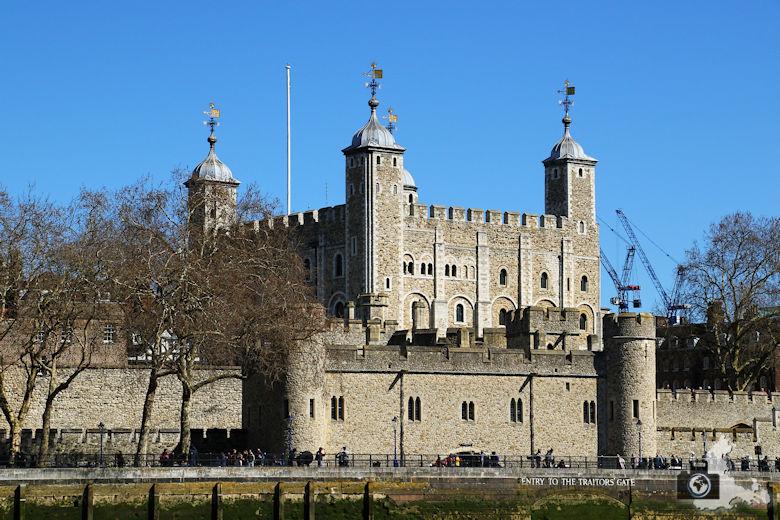 London Bootsfahrt auf der Themse - Tower of London