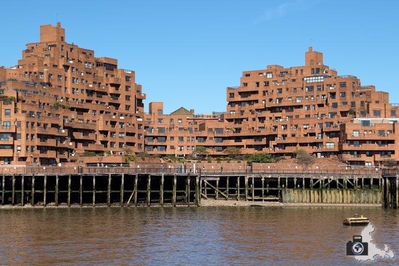 London Bootsfahrt auf der Themse - Appartements mit Flussblick