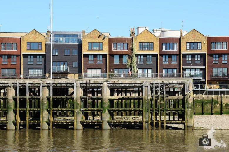 London Bootsfahrt auf der Themse - Appartements