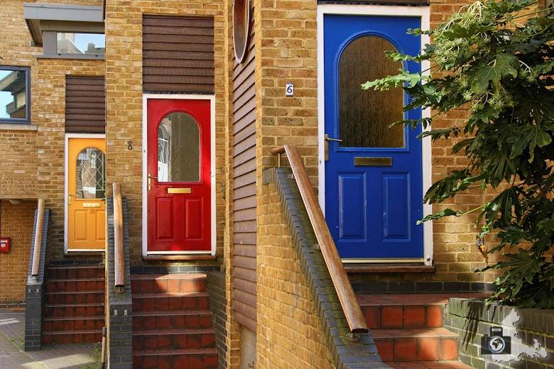 London - bunte Türen
