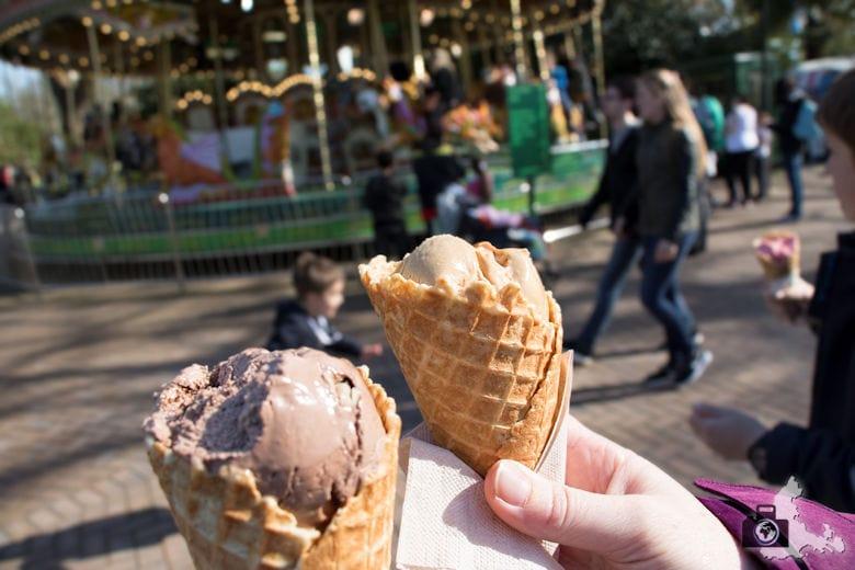 London Zoo - Eis essen