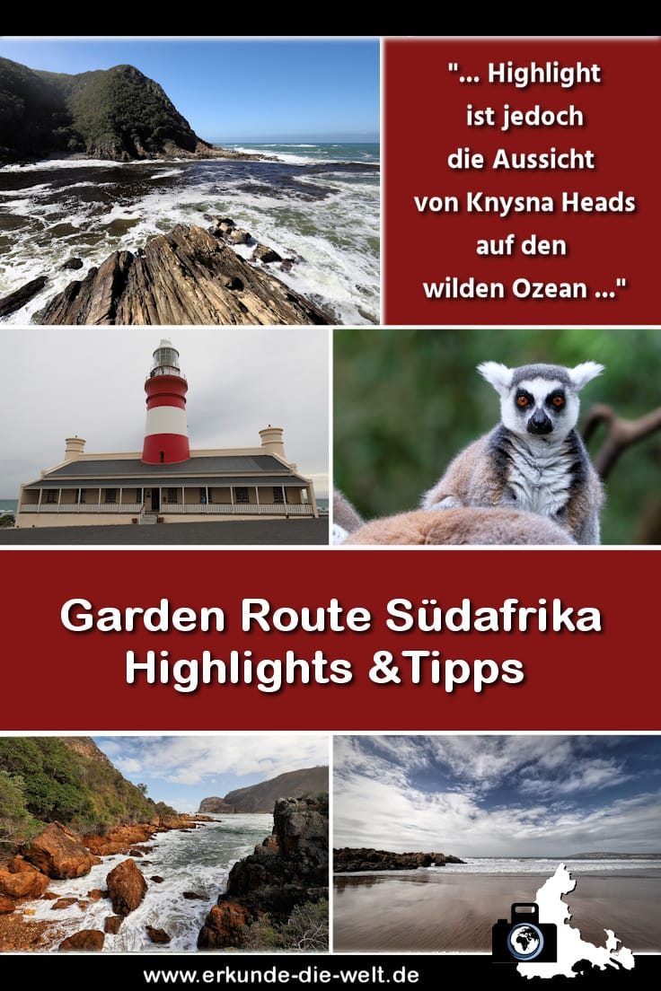 Garden Route Südafrika Highlights