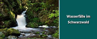 Schwarzwald - die schönsten Wasserfälle und Tipps zur Fotografie von Wasserfällen
