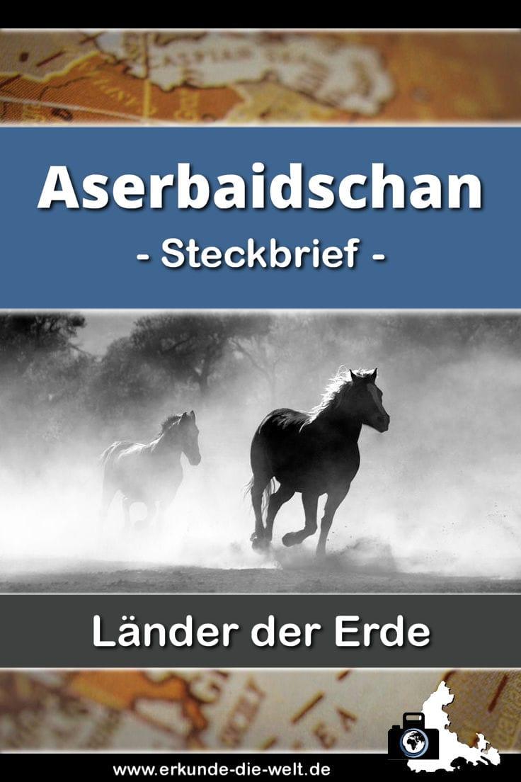 Steckbrief Aserbaidschan