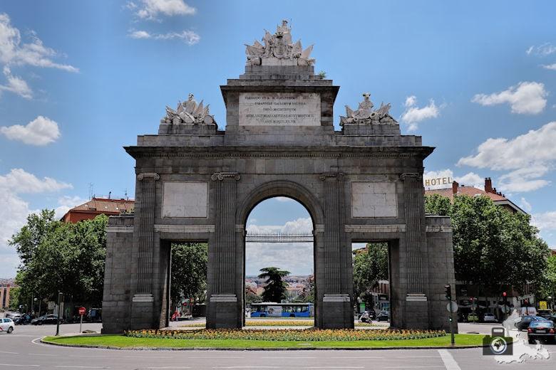 Sehenswürdigkeiten in Madrid - Puerto de Toledo
