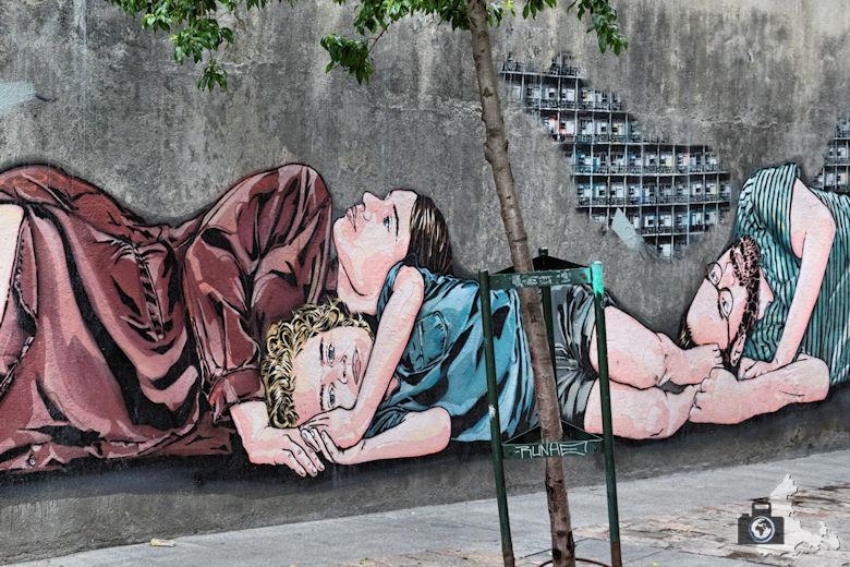 Sehenswürdigkeiten in Madrid - Streetart