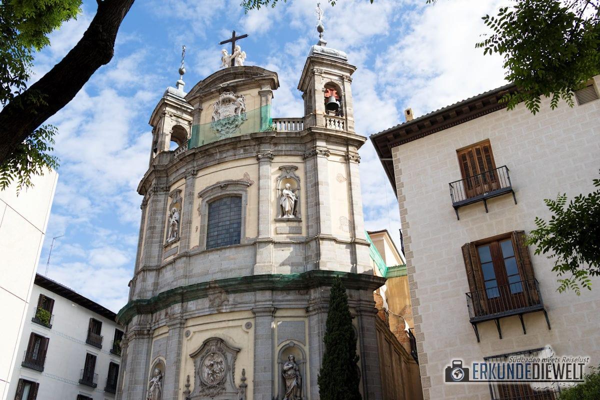 Kirche, Madrid, Spanien