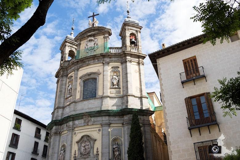 Sehenswürdigkeiten in Madrid - Kirche