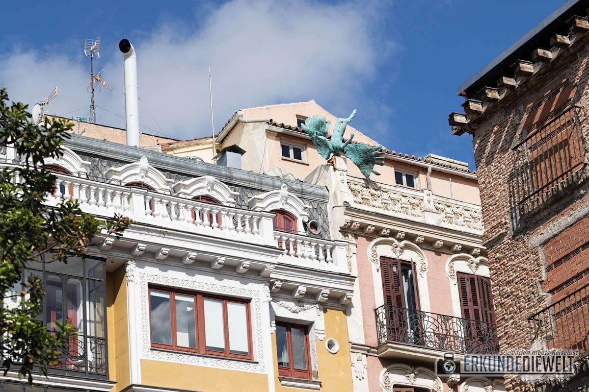 Gefallener Engel, Madrid, Spanien