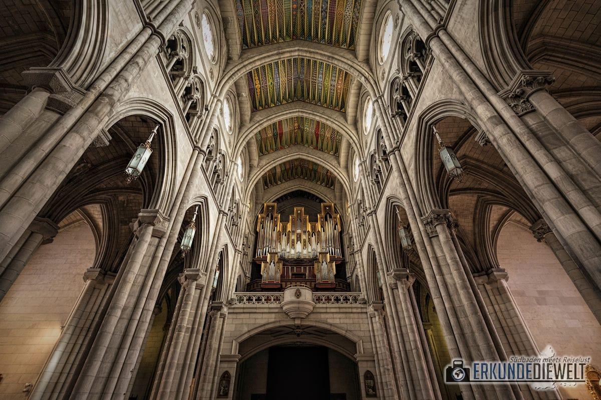 Almudena Kathedrale, Madrid, Spanien