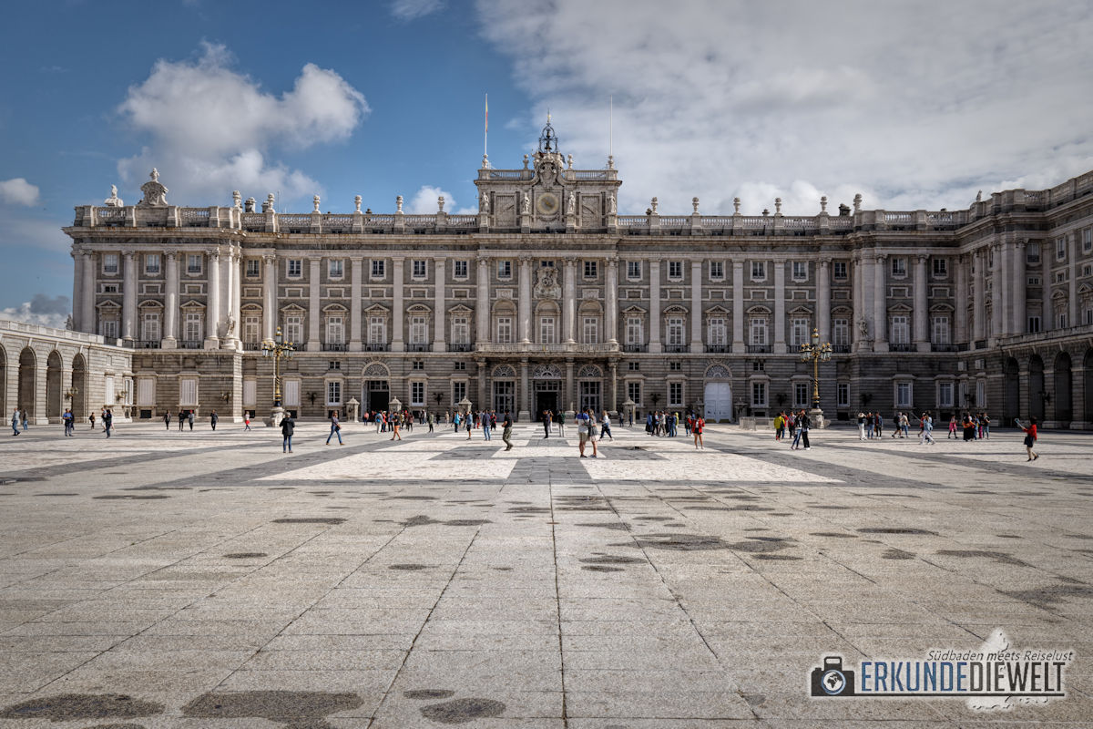 Palacio Real, Madrid, Spanien