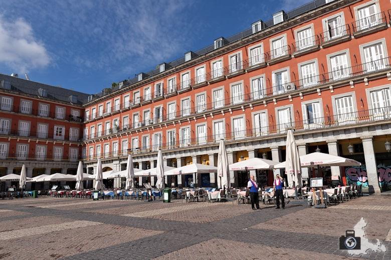 Sehenswürdigkeiten in Madrid - Plaza Mayor