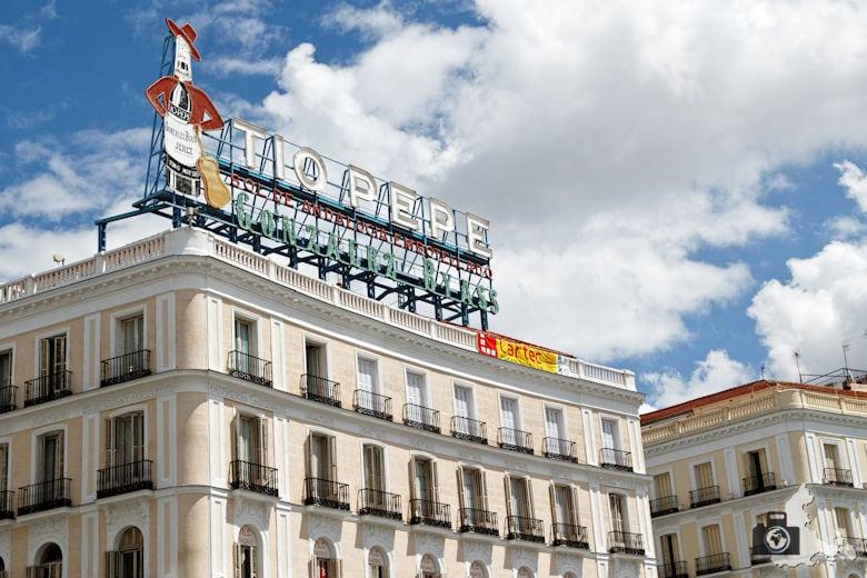Sehenswürdigkeiten in Madrid - Puerta del Sol