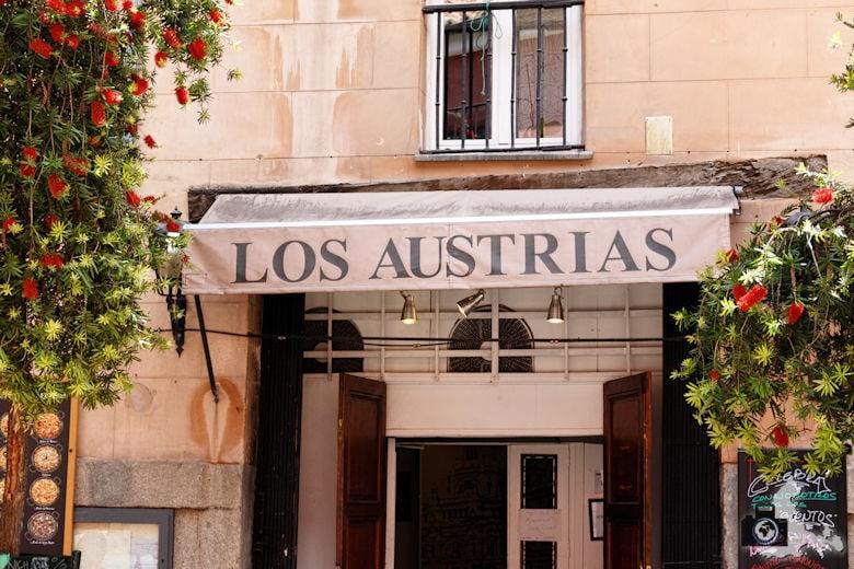 Tapas essen im Los Austrias in Madrid