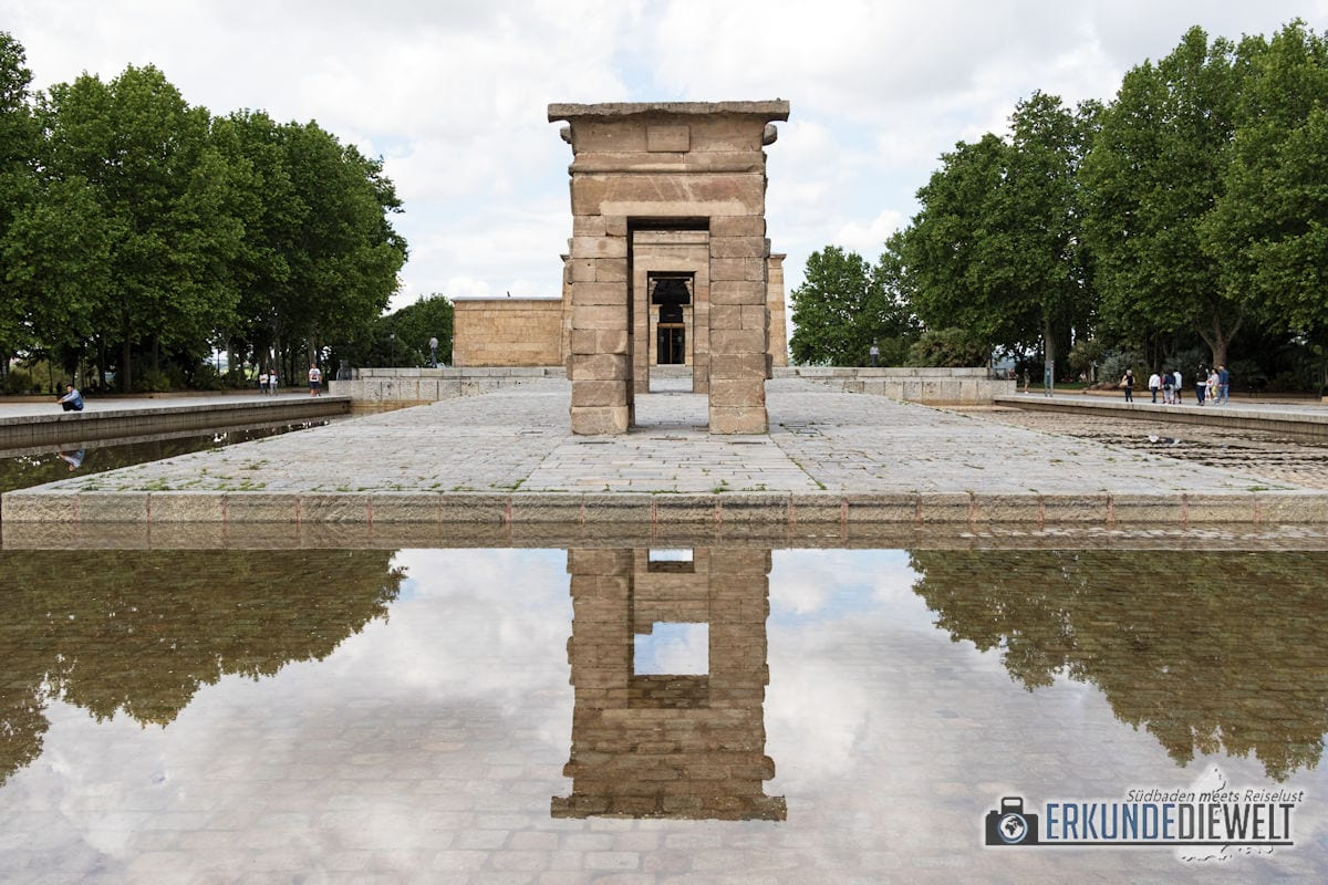 Templo de Debod, Madrid, Spanien