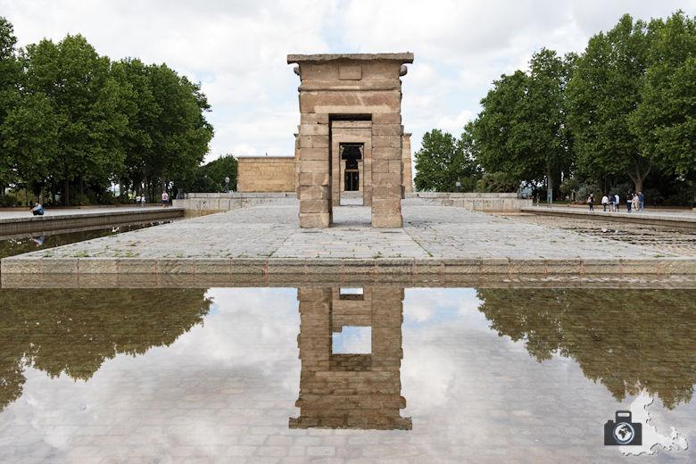 Sehenswürdigkeiten in Madrid - Templo de Debod