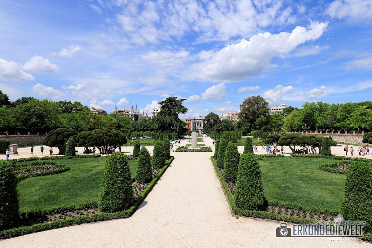 Retiro-Park, Madrid, Spanien