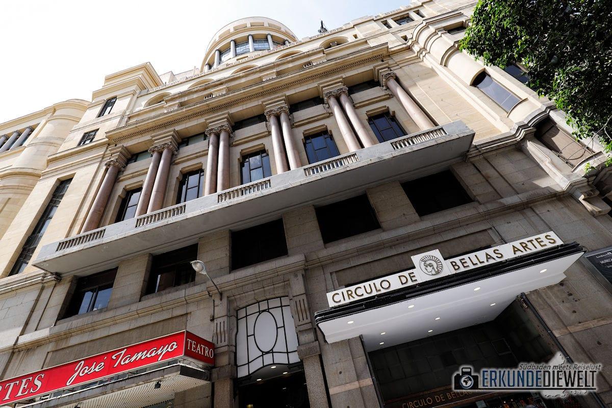 Circulo de Bellas Artes, Madrid, Spanien