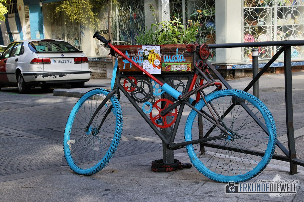 Fahrrad, Madrid, Spanien
