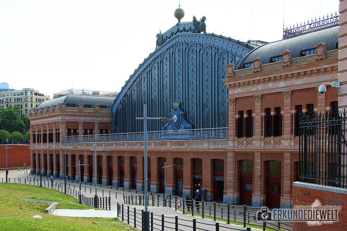 Bahnhof Atocha, Madrid, Spanien
