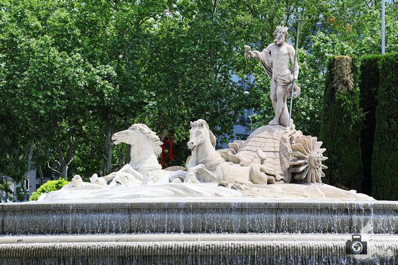 Madrid - Neptunbrunnen