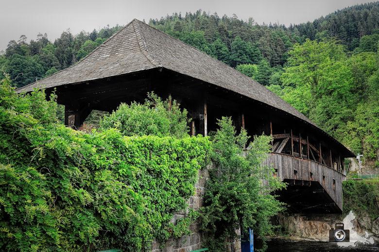 Forbach im Schwarzwald - Brücke