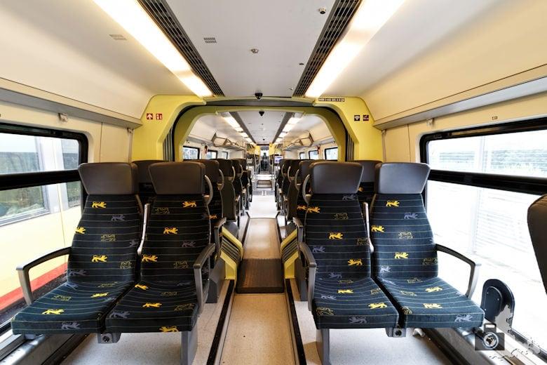 bwegt Zug - 2. Klasse Abteil