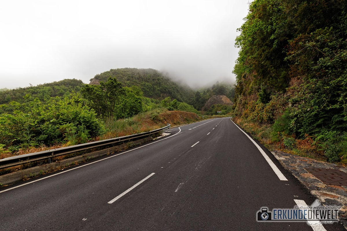 Straße, La Palma, Kanaren