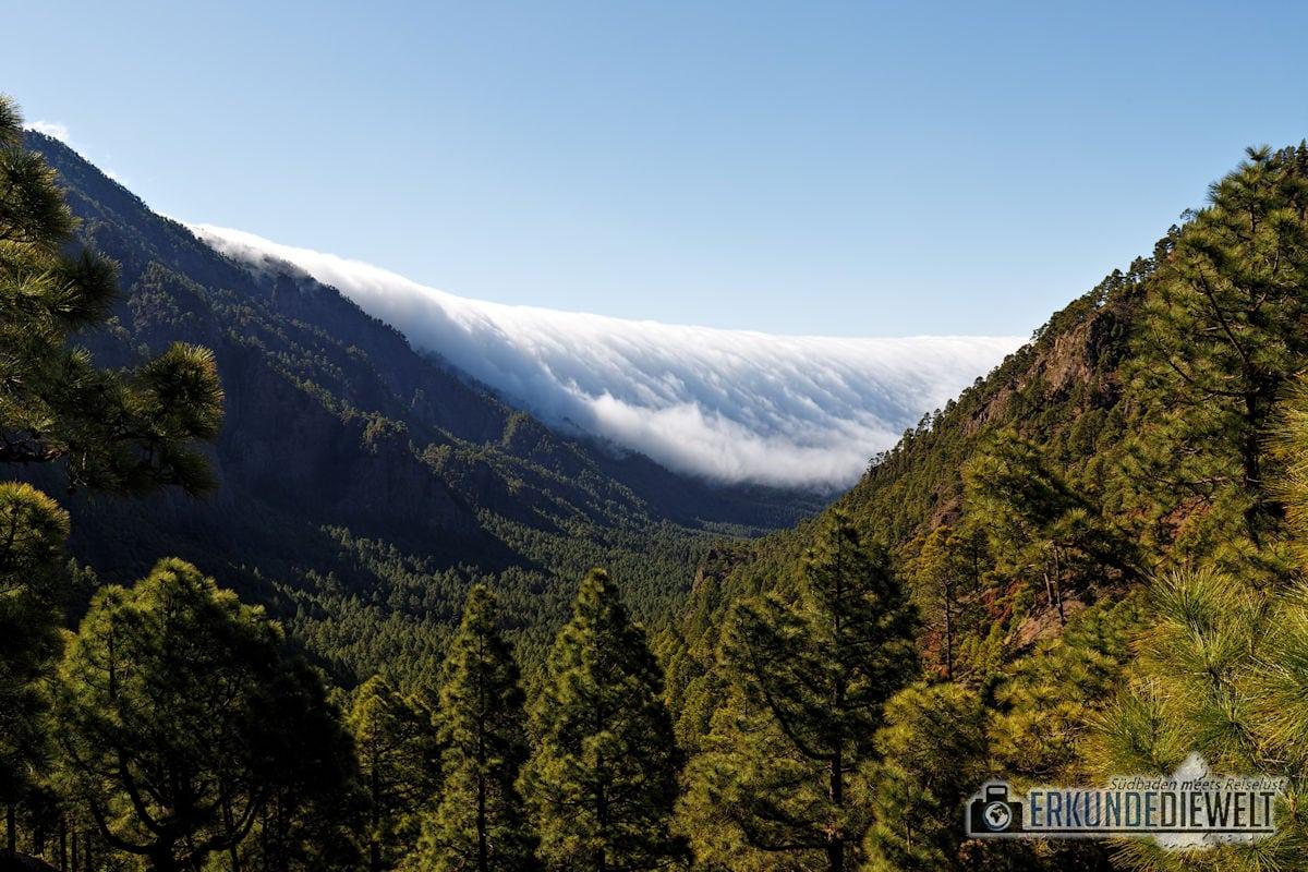 Wolkenfront, La Palma, Kanaren